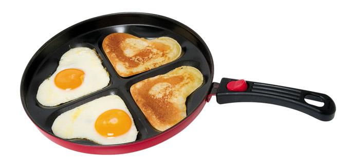 сковорода сердце