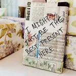 Вручение подарков на свадьбе