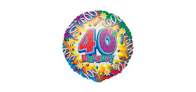 юбилей 40 лет женщине поздравления
